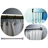 Shower Rods & Curtains