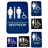 Wall Mounted Restroom Signs