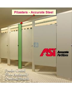 Toilet Stall Pilasters - Accurate Steel