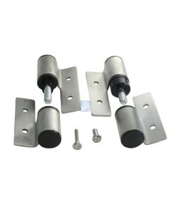 Surface Mounted Hinge Set RH/IN-LH/OUT Stamped SS