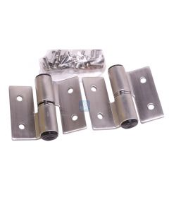 Surface Mounted Hinge Set RH/IN-LH/Out