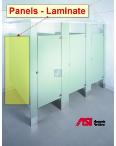 Stall Panels in Laminate Materials - Accurate Brand