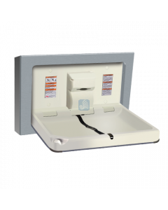9018-9 Baby Changing Station Horizontal Surface Mounted Stainless Steel