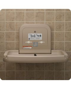 KB200-11 Baby Changing Station Standard Horizontal Earth Color