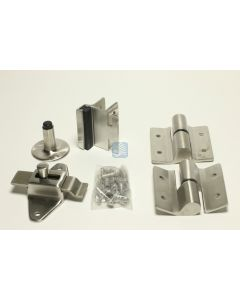 Surface Mounted Door Kit LHI  Cast Stainless Steel