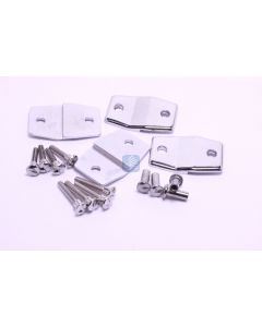 Alcove Clip Pack - 4 clips with screws (RCD Brackets - Wall - Panel - Alcove)