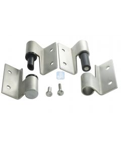 Surface Mounted Hinge Set RH/In-LH/Out W/Fasteners