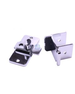 """Slide Latch w/Keeper 1-1/4"""" Inswing cast stainless steel- Accurate"""