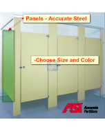 Restrooms Stall Panels -Accurate Steel