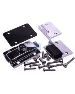 Latch & Keeper Assembly In/Out W/Fasteners chrome plated- zamak