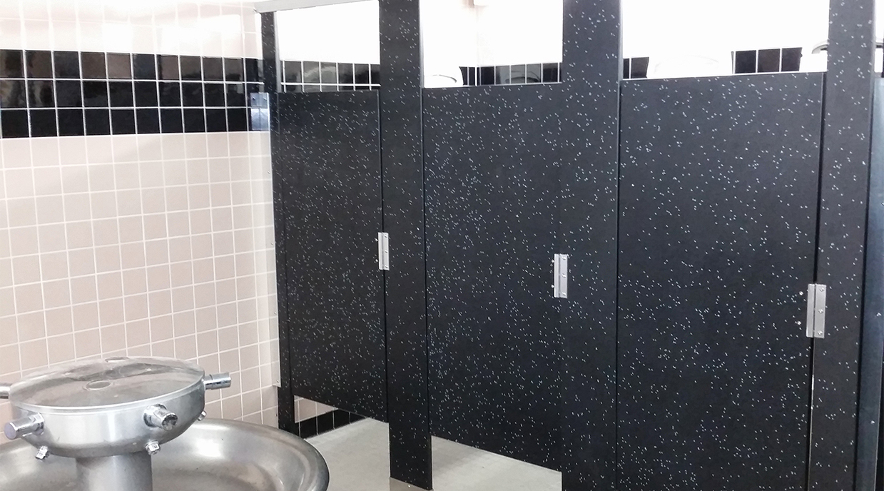 Toilet Partitions - All Materials and Colors